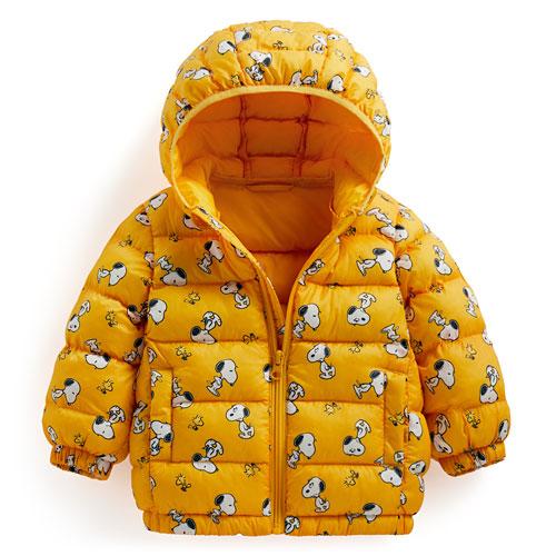 史努比鋪棉連帽外套-Baby