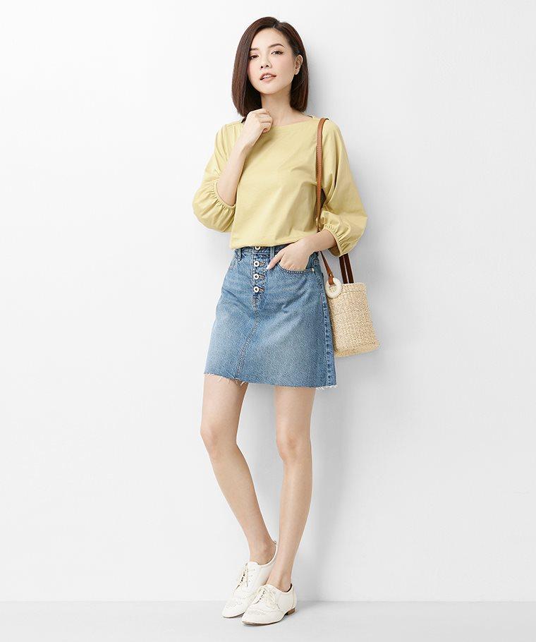 牛仔短裙-01-女