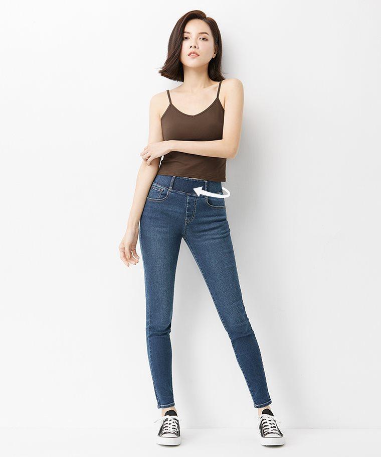 輕量收腹緊身牛仔褲-01-女