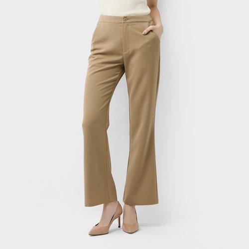 西裝喇叭褲-女