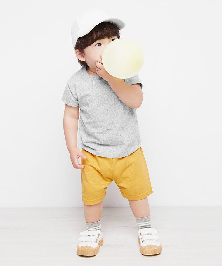 竹節棉短褲-Baby