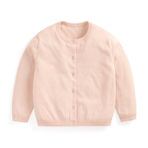 棉質針織外套-童