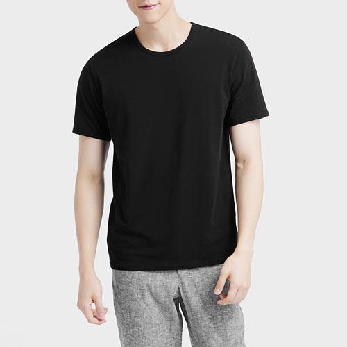 彈力圓領T恤-男