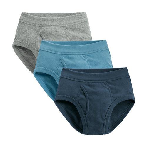 羅紋三角褲(3入)-男童