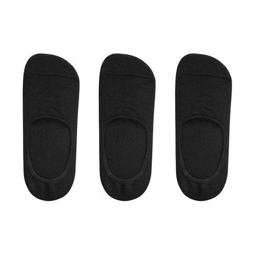 素色船型襪(3入)-女