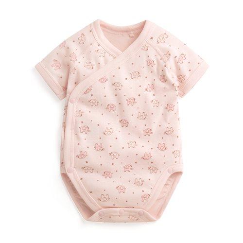 純棉羅紋印花包臀衣-01-Baby
