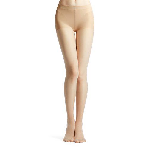 素色透膚褲襪-女