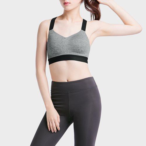 吸排高度支撐背扣運動Bra-女