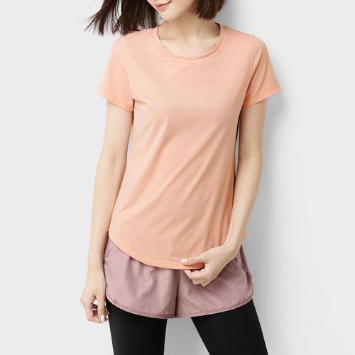 吸排圓領短袖T恤-女