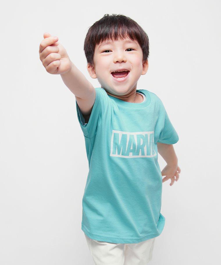 漫威系列印花T恤-01-童