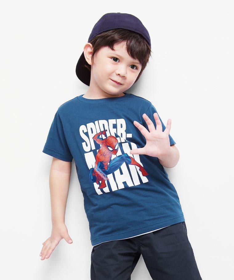 漫威系列印花T恤-19-童