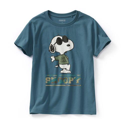 史努比系列印花T恤-06-童