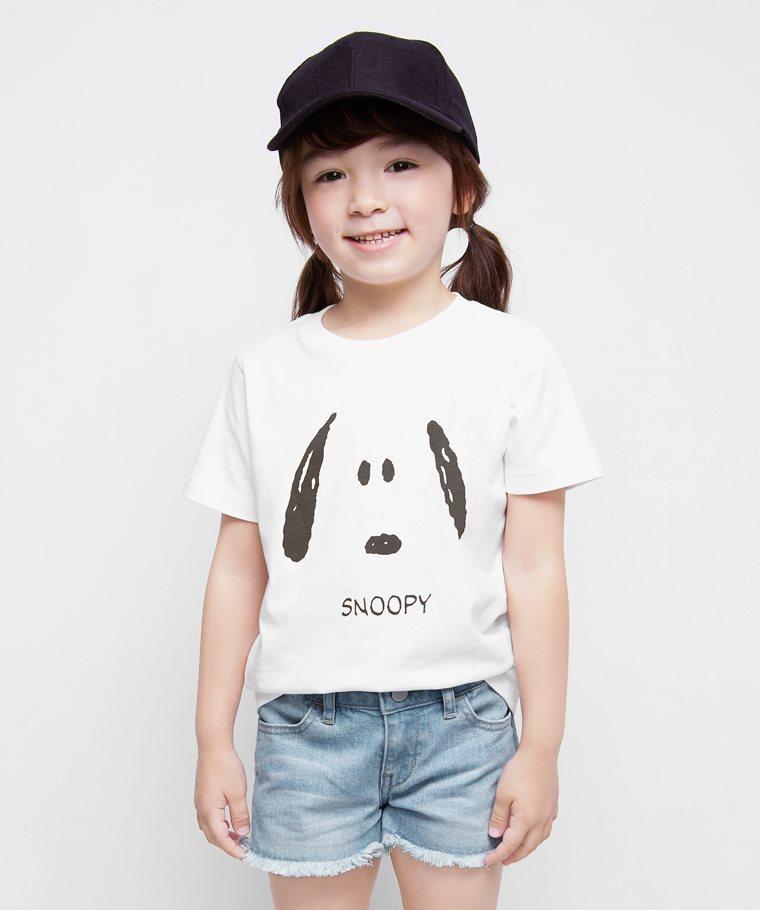 史努比系列印花T恤-17-童