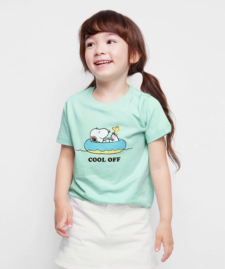 史努比系列印花T恤-28-童