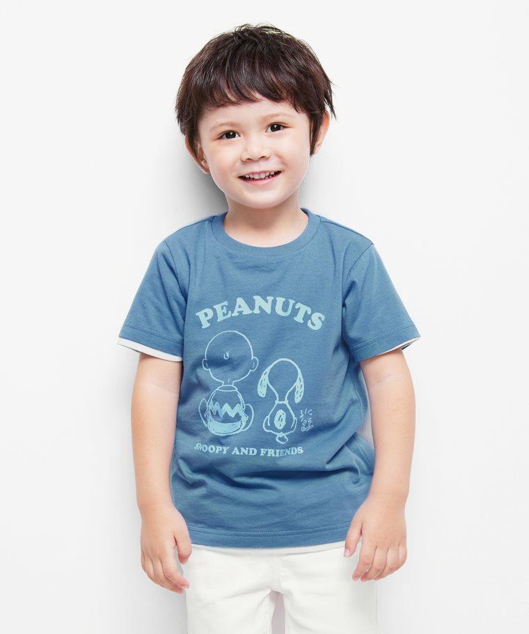史努比系列印花T恤-05-童