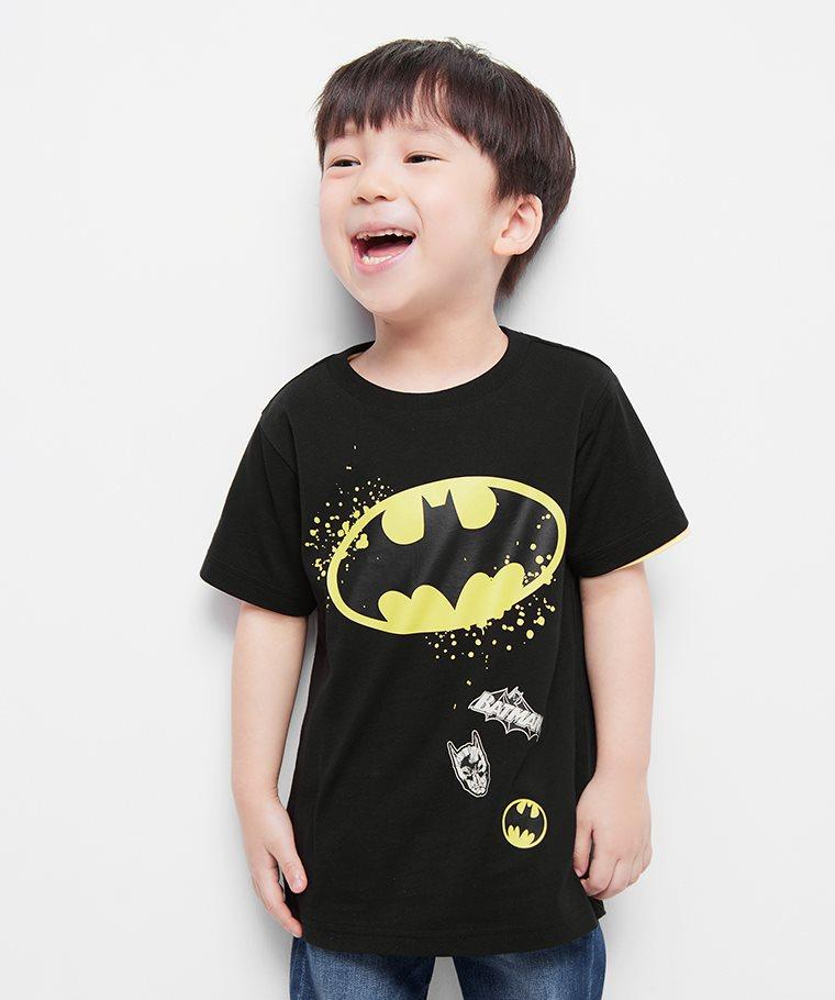 Batman印花T恤-07-童