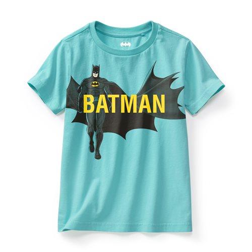 Batman印花T恤-08-童