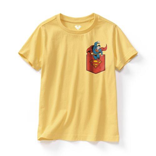 Superman印花T恤-05-童
