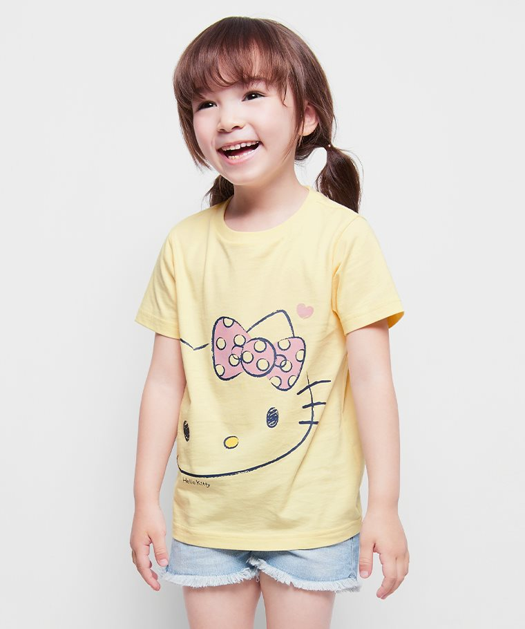 Hello Kitty印花T恤-17-童