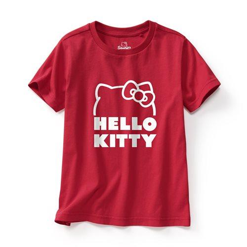 Hello Kitty印花T恤-10-童
