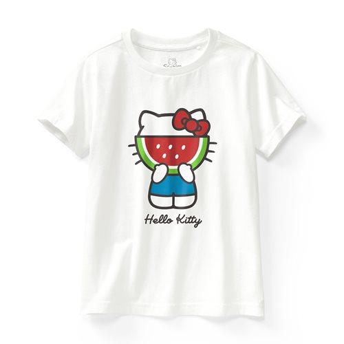 Hello Kitty印花T恤-04-童