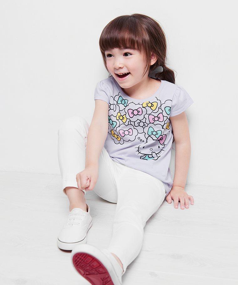 Hello Kitty印花T恤-16-童