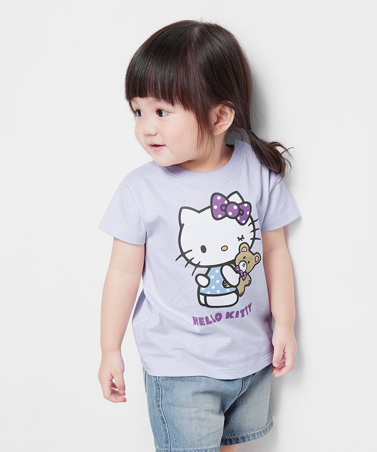 Hello Kitty印花T恤-18-Baby