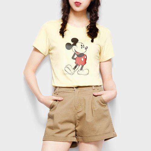 迪士尼系列印花T恤-01-女