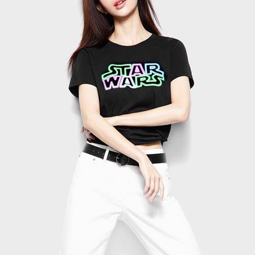 STAR WARS系列印花T恤-11-女