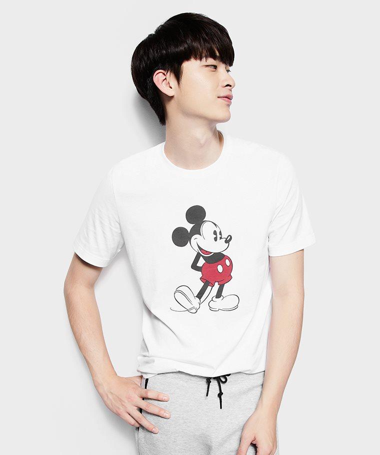 迪士尼系列印花T恤-01-男