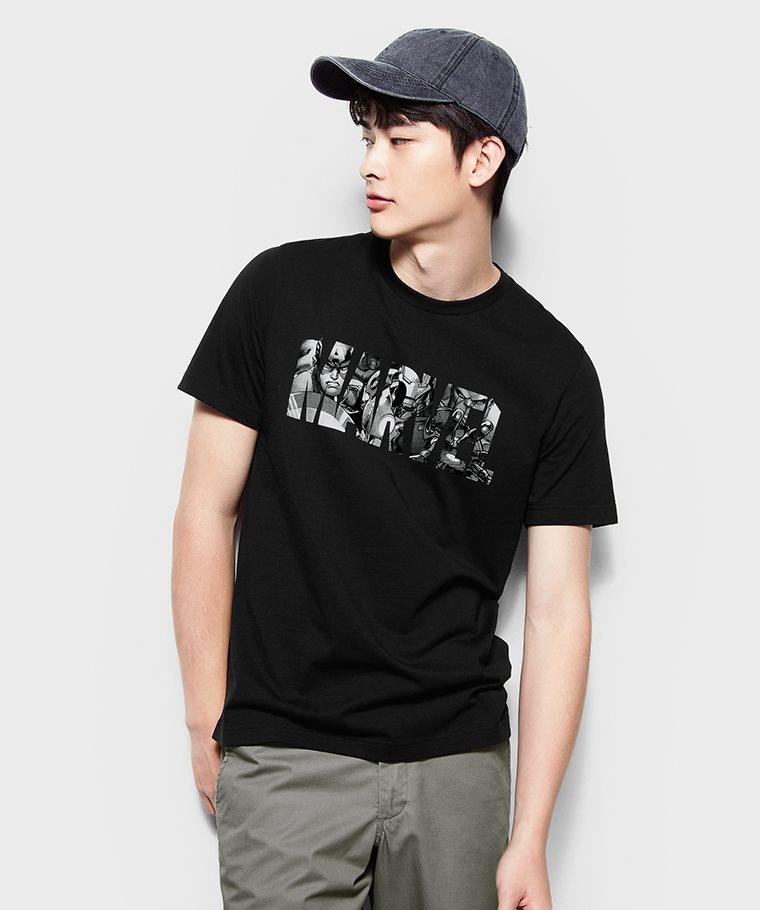 漫威系列印花T恤-02-男