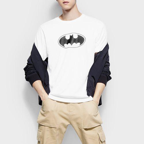 Batman印花T恤-02-男