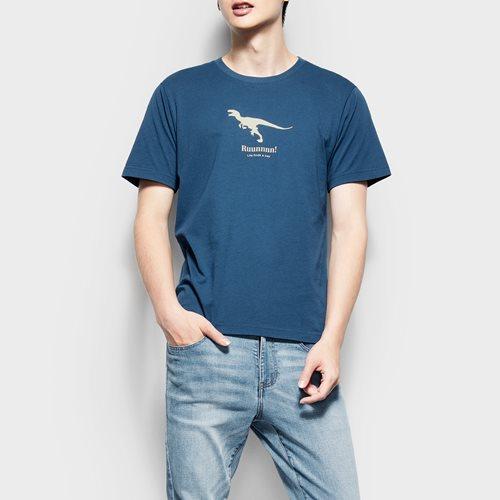 Jurassic World印花T恤-04-男