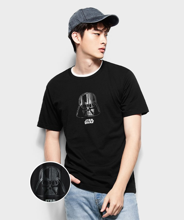 STAR WARS系列印花T恤-09-男