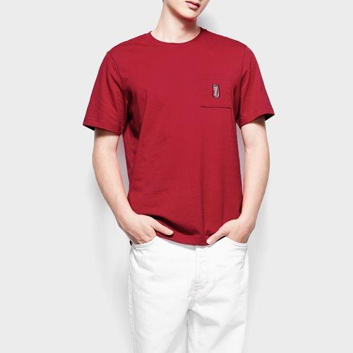 可口可樂口袋印花T恤-12-男