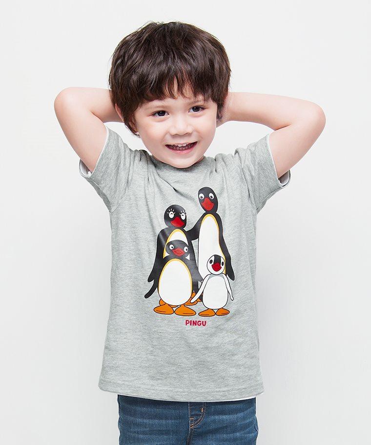 PINGU印花T恤-01-童
