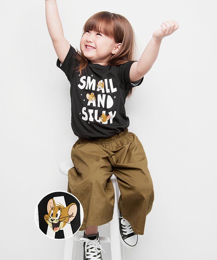 Tom & Jerry印花T恤-12-童