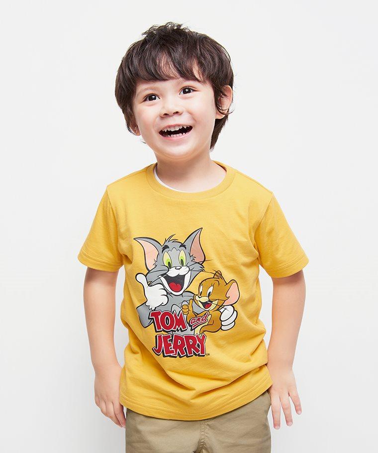 Tom & Jerry印花T恤-06-童