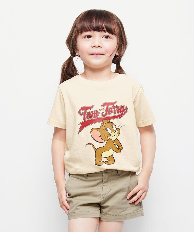 Tom & Jerry印花T恤-05-童