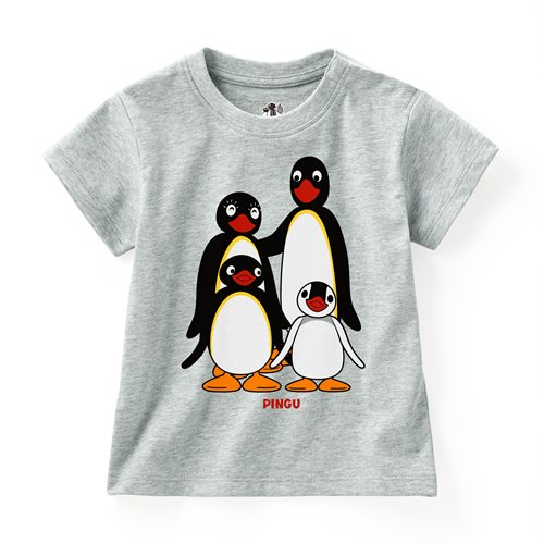 PINGU印花T恤-01-Baby
