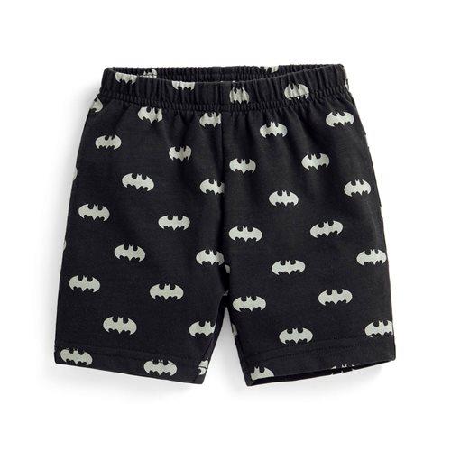 Batman竹節棉印花短褲-Baby