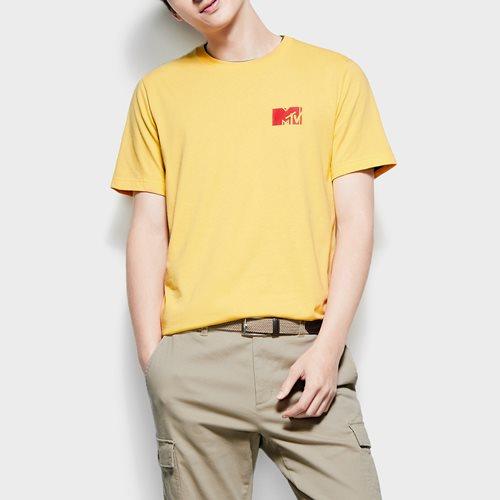 MTV印花T恤-04-男