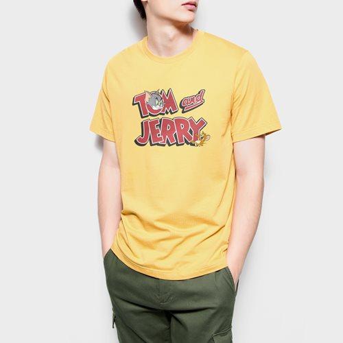 Tom & Jerry印花T恤-02-男