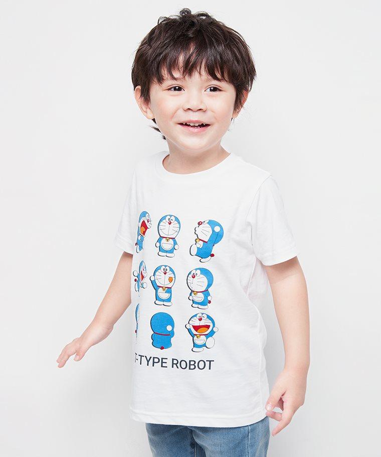 哆啦A夢印花T恤-13-童