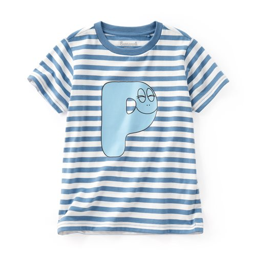 BARBAPAPA條紋印花T恤-09-童