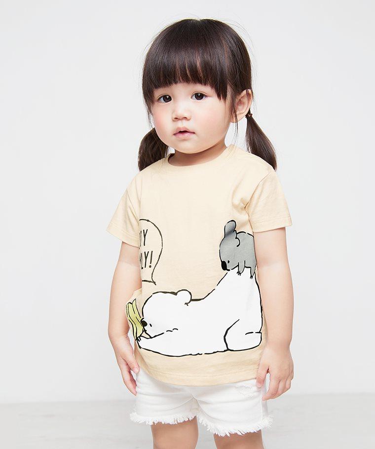 Shirokuma Days印花T恤-06-Baby