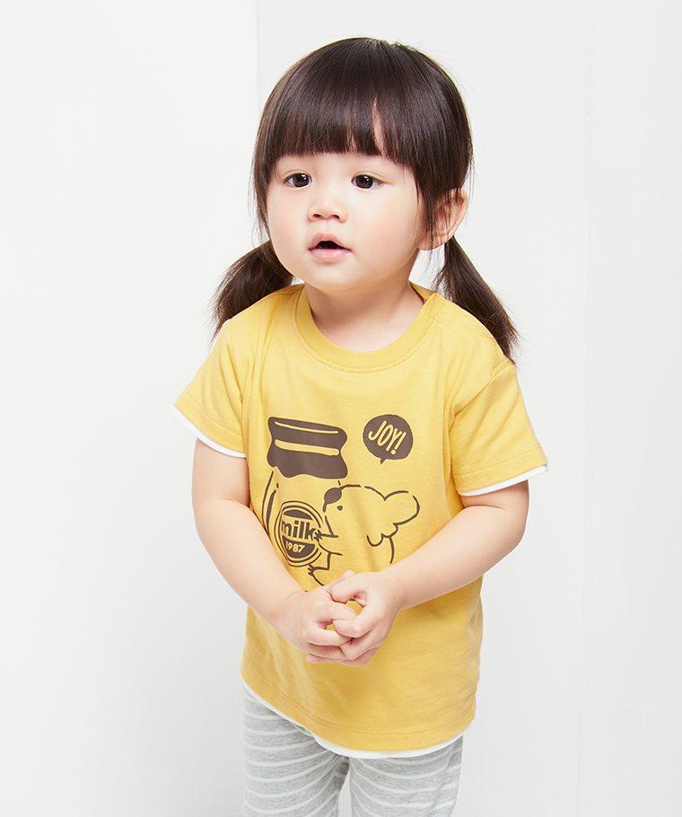 Shirokuma Days印花T恤-08-Baby