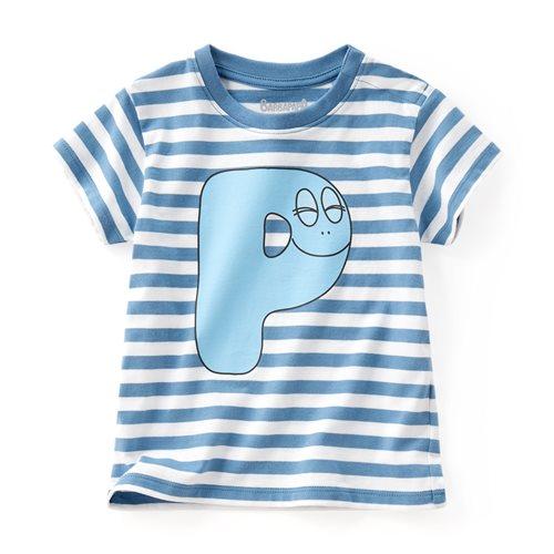 BARBAPAPA條紋印花T恤-09-Baby