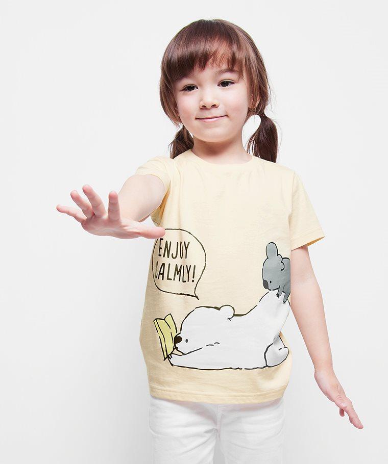 Shirokuma Days印花T恤-06-童