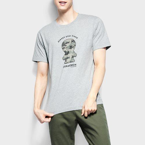哆啦A夢印花T恤-05-男